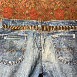 Lucky Brand Legend studded jeans 16/33, runs small